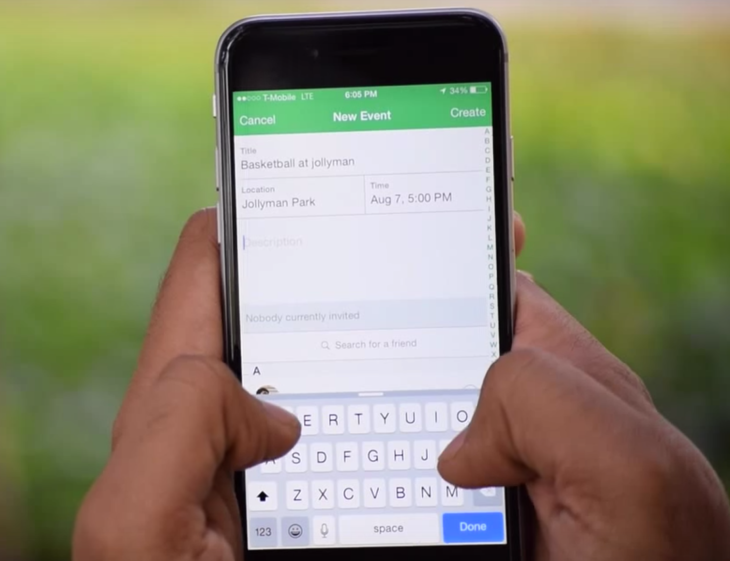 Bash For iOS Makes It Easy To Organize Hangouts With Friends