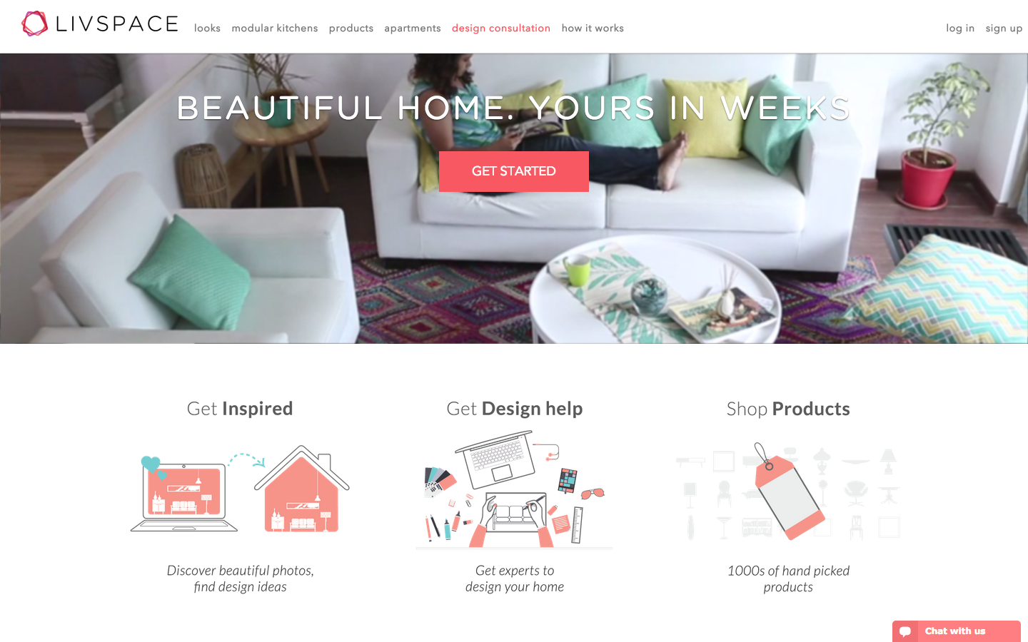 Livspace Lands $8M To Expand Its Online Home Design Service In India ...