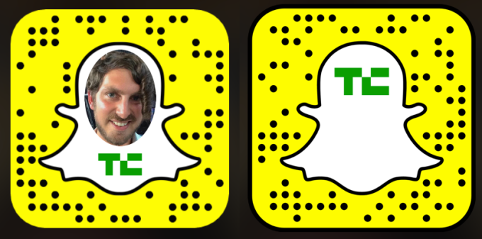 TechCrunch Snapchats