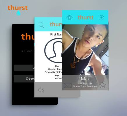 Yes, there are apps for gay men, like Grindr and Scruff, and one for queer women called Her