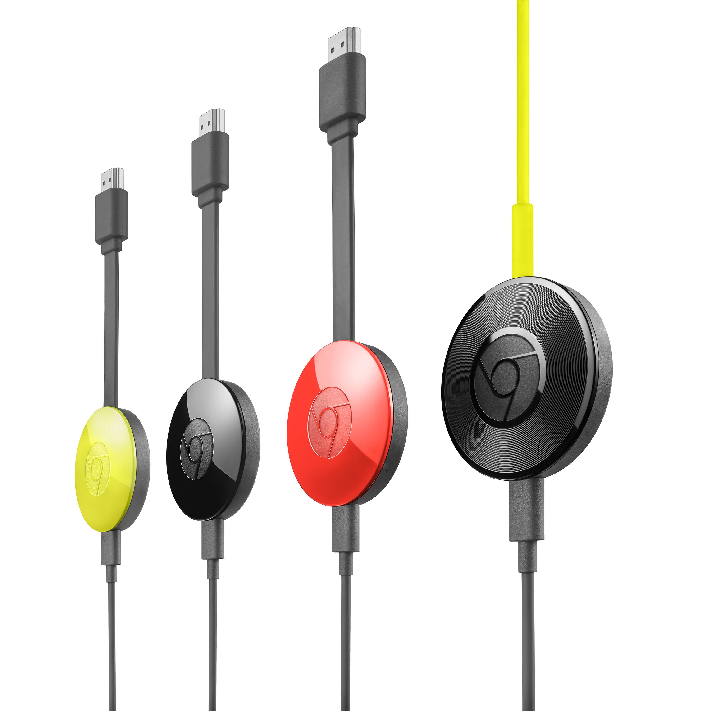 Google Announces Chromecast 2 And Chromecast Audio To Bring