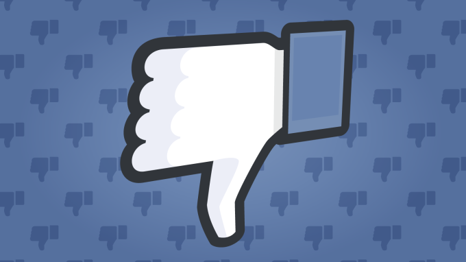 Facebook confirms test of a downvote button for flagging