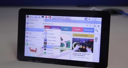 Raspberry Pi Now Makes A Touchscreen Display So You Can