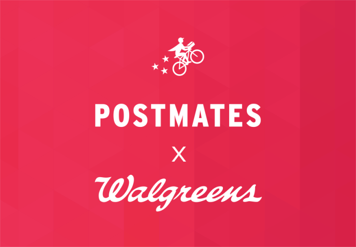 postmates and walgreens team up for on demand delivery techcrunch
