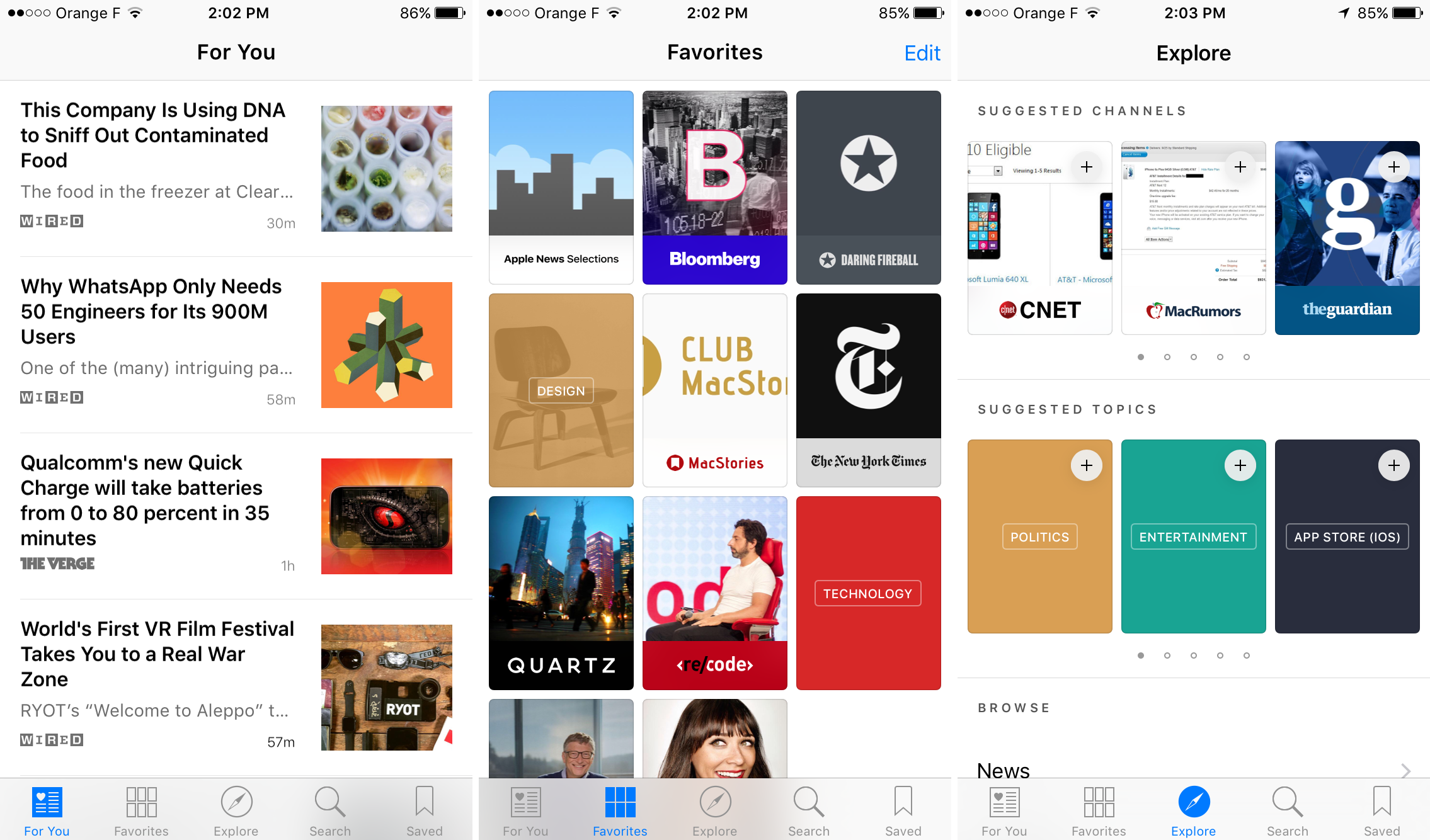 iOS 9 - News