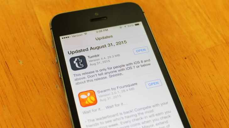 App Release Notes Are Getting Stupid | TechCrunch