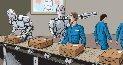 Image result for robot replace workers