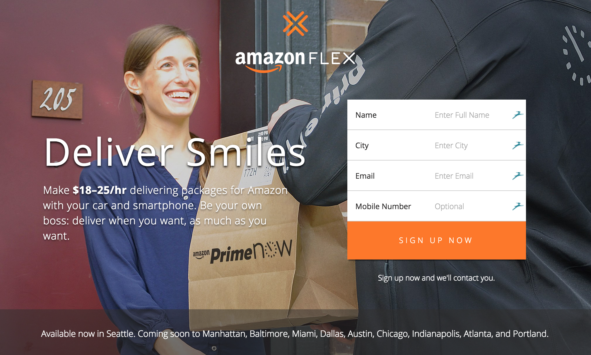 Amazon Launches Flex To Rival Postmates In On-Demand