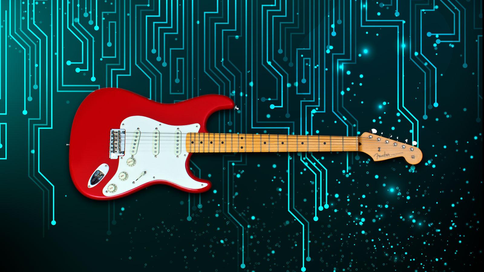 fender goes digital so you don t quit guitar techcrunch. Black Bedroom Furniture Sets. Home Design Ideas