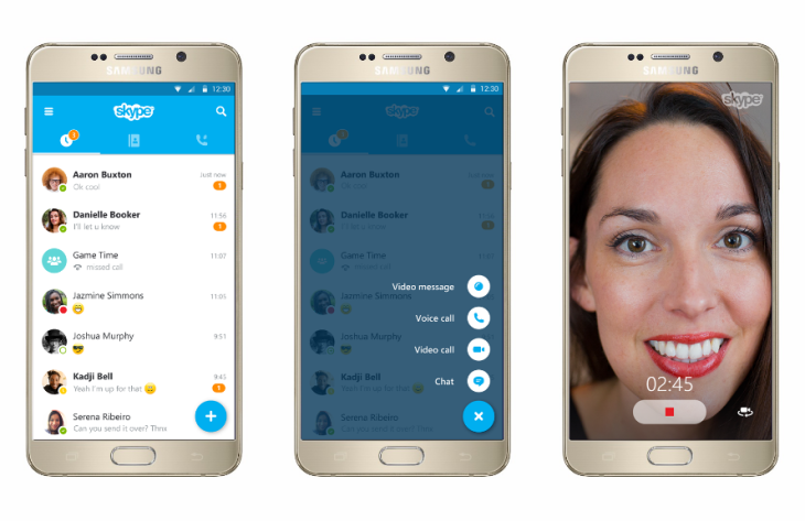 Skype Gives Its iOS And Android Apps A Makeover | TechCrunch