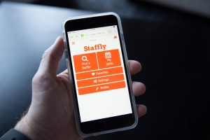 staffly mobile screen