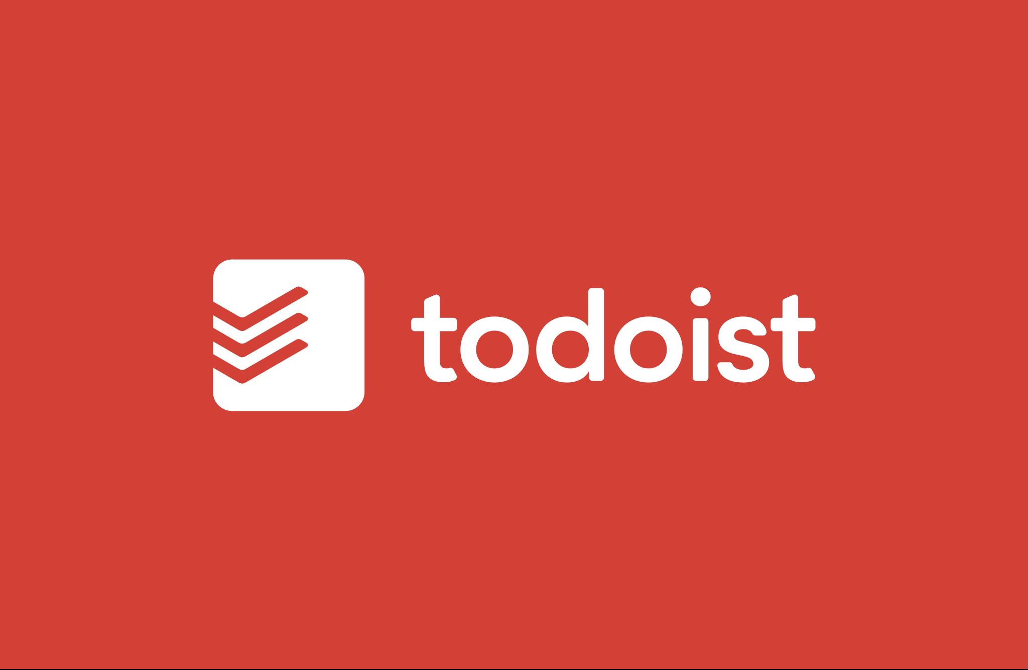 Todoist new logo red