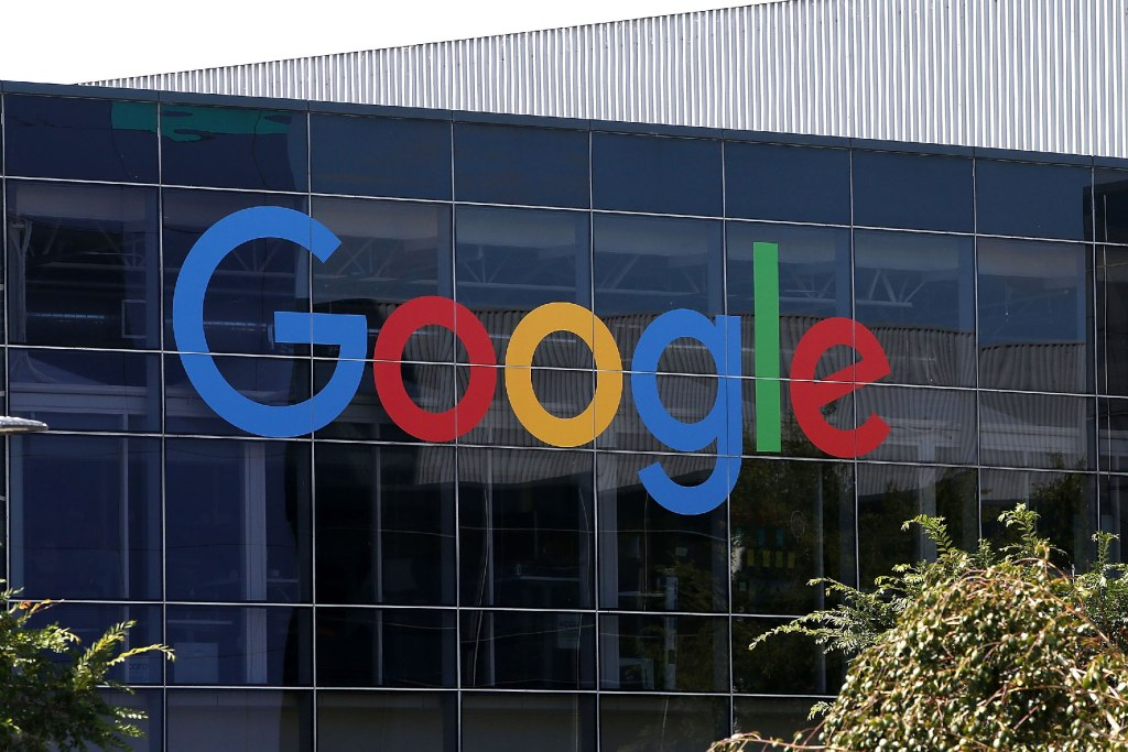 Google headquarters (2015 logo)