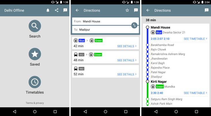 Google Releases 'Experimental' Public Transport App For