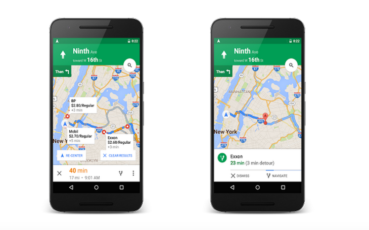 Google Maps Now Lets You Add A Stop Along Your Route Check Gas - Map my route google maps