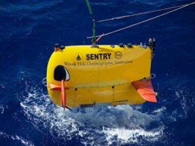 Autonomous underwater vehicle Sentry
