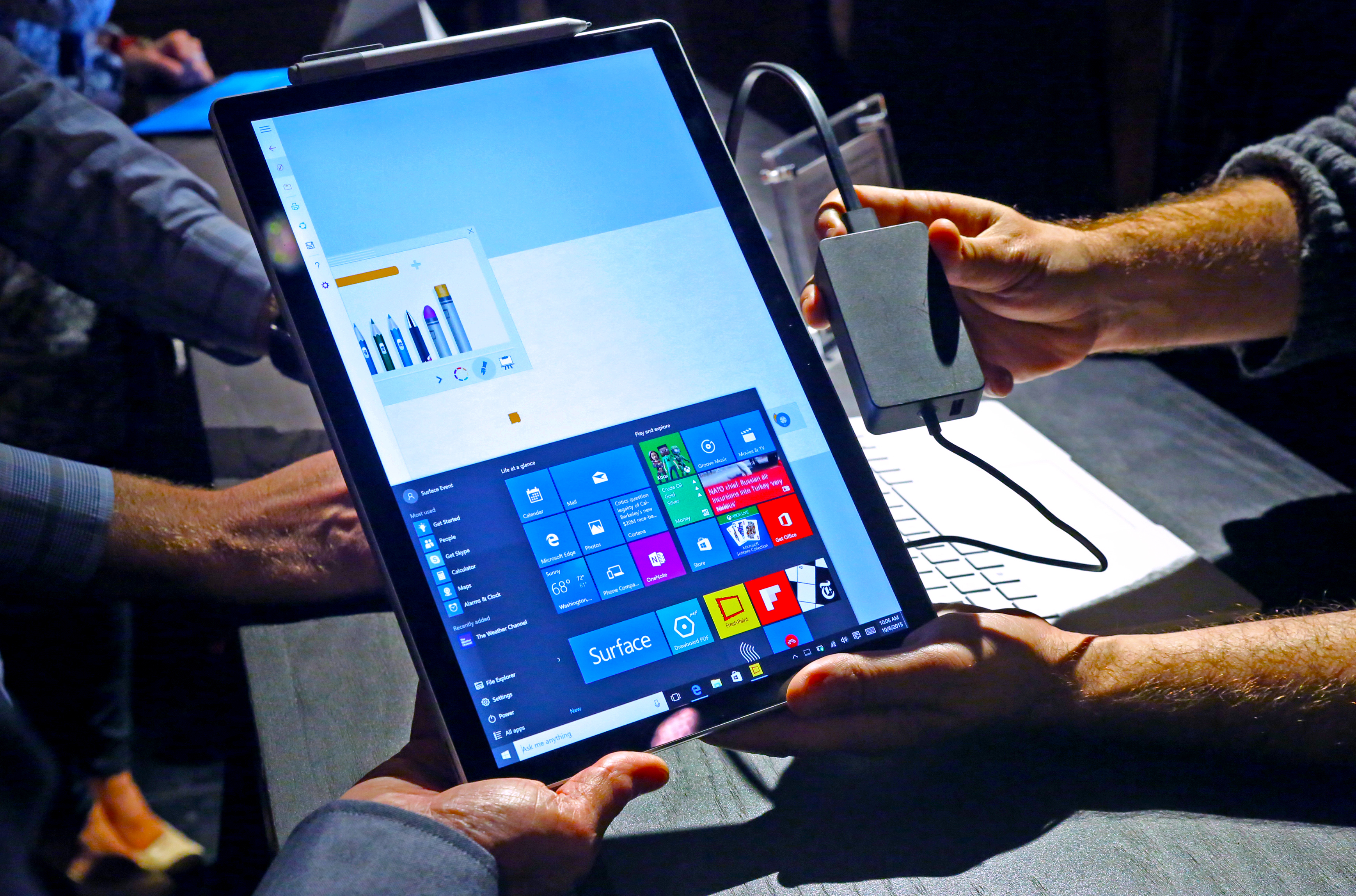 Microsoft Surface Book with Power Brick