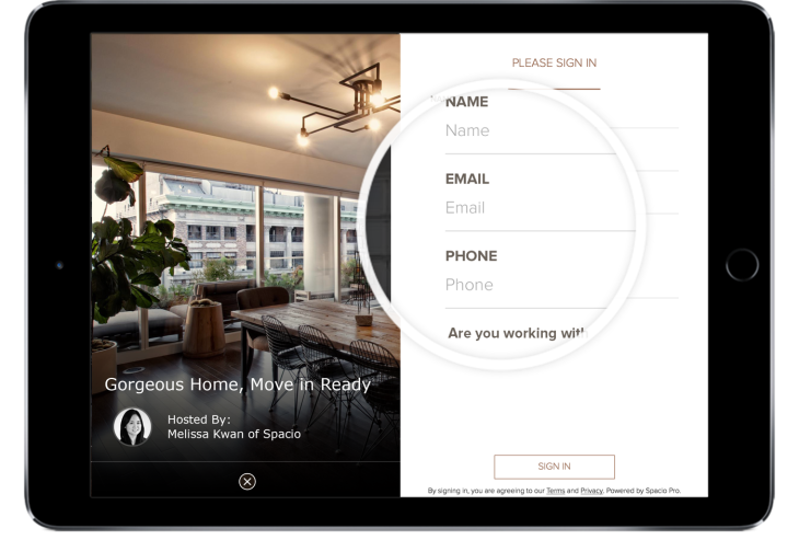 Spacio Pro Plans To Supercharge Open House Showings With A