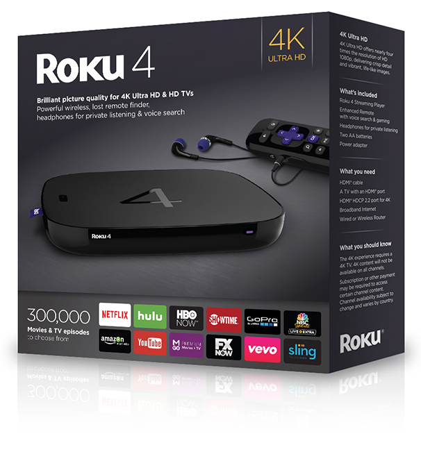 Roku 4 Packaging