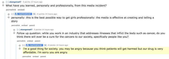 Turing CEO Defends $750 Pill In Reddit AMA, Says Scandal Has