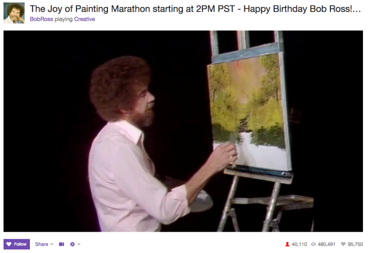 The Joy Of Watching Paint Dry On Twitch | TechCrunch