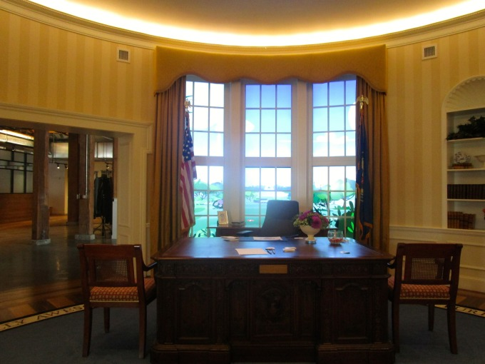 GitHub's offices with replica of White House Oval Office.