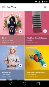 Apple Music on Android Image
