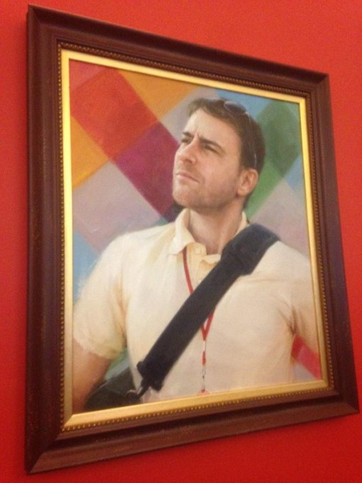 A portrait of Slack CEO Stewart Butterfield