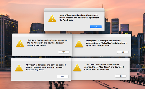 Apple Acknowledges Mac App Store Issue That Caused Apps To Stop
