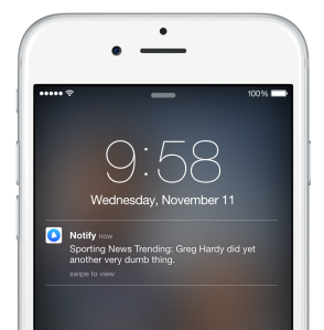 Facebook Notify Notification