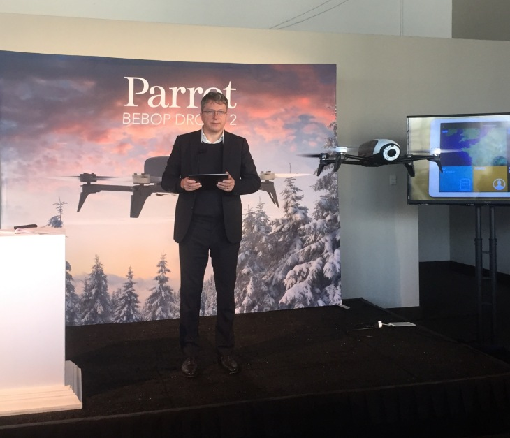 Parrot Unveils Bebop Drone 2 With Twice The Battery Life