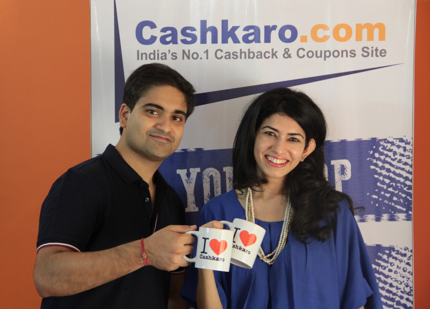 CashKaro founders Rohan and Swati Bhargava