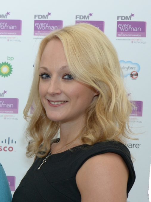 2013 FDM everywoman in Technology Awards.