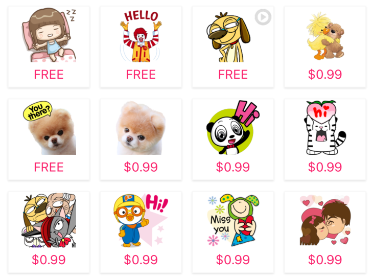 Pandi free Line stickers on Facebook