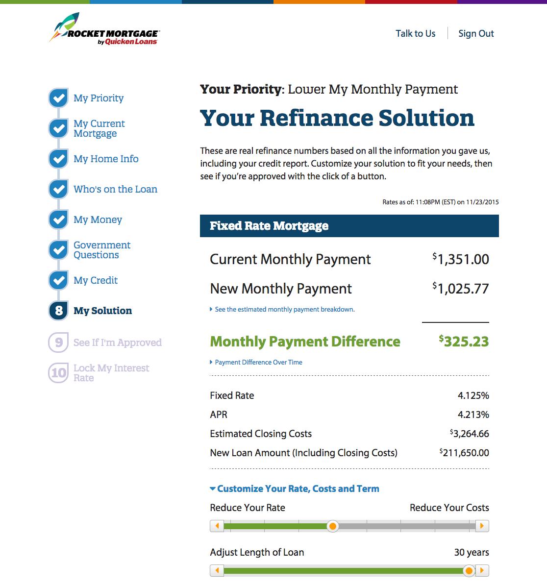 rm screenshot 2 refi solution
