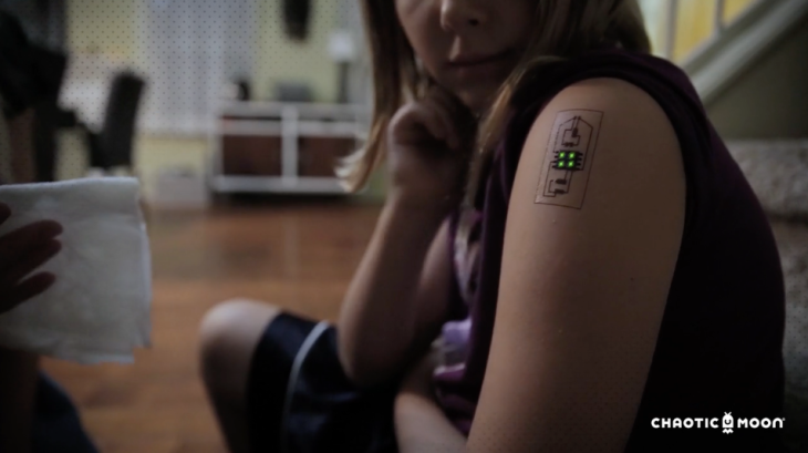 Chaotic Moon Explores Biometric Tattoos For Medicine And The