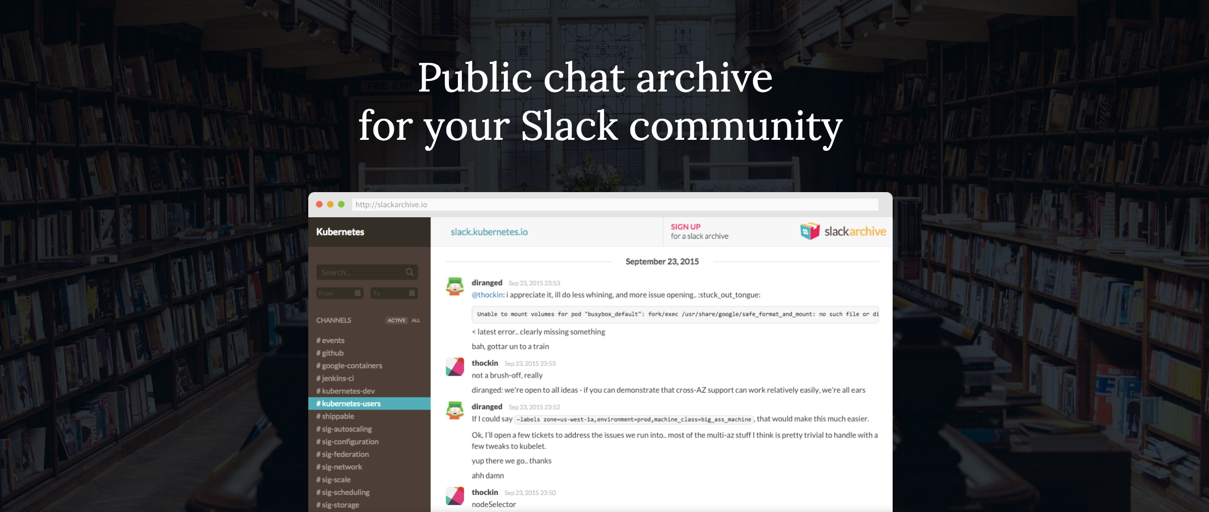 SlackArchive Gives You Public Chat Archive For Free | TechCrunch