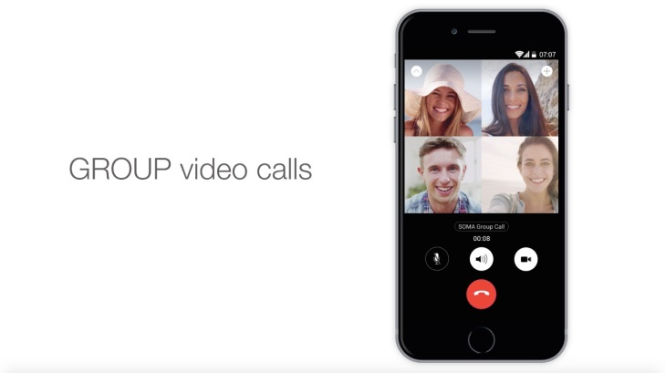 Encrypted Messaging App SOMA Launches Group Voice And Video