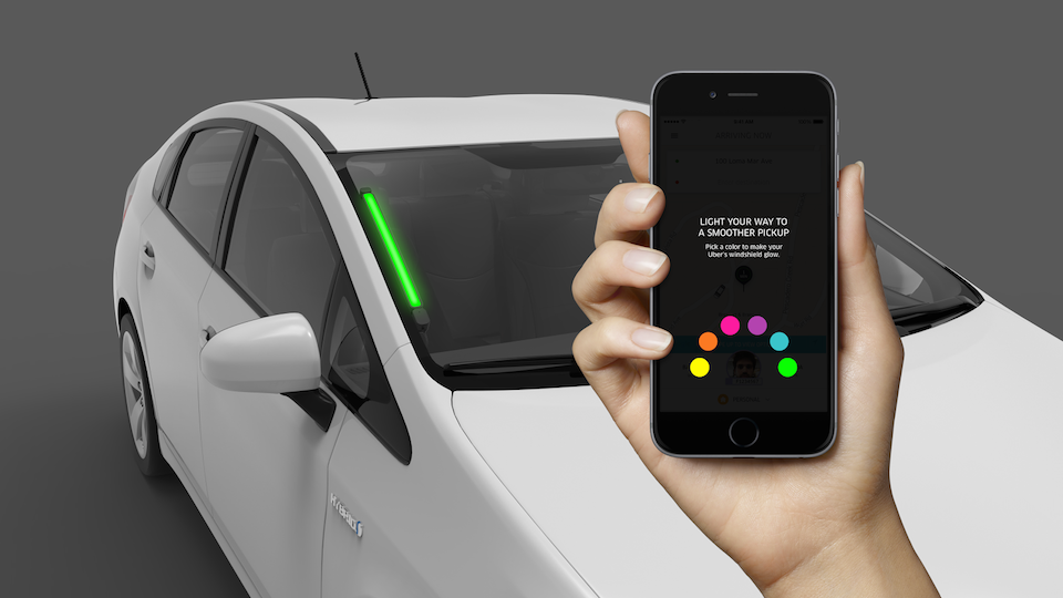 Find Which Uber Is Yours With Its New Colored Coded Spot Lights