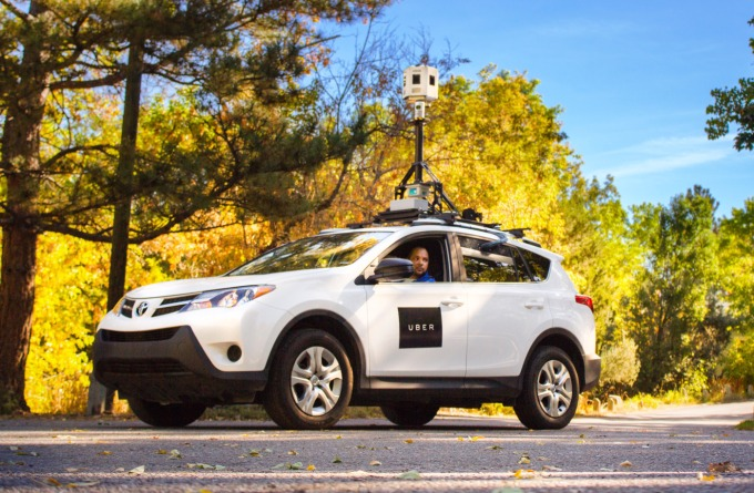 Uber's camera-covered mapping vehicle helps make its routes and ETAs more accurate