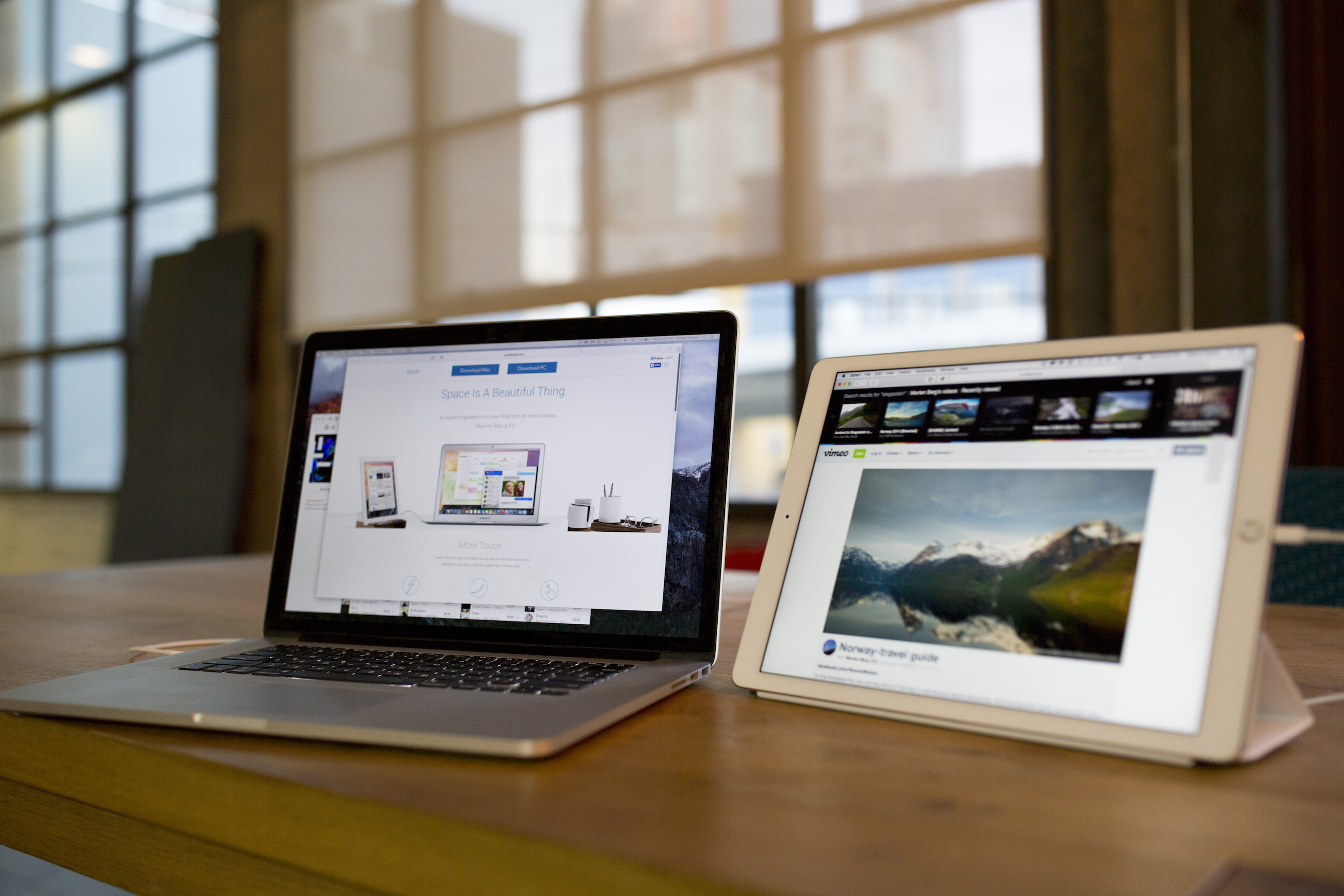 Duet Display 2 uses hardware acceleration to catch up with Luna
