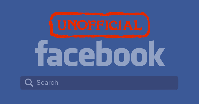 The Unofficial Facebook Advanced Search Engine Techcrunch Enter whatever it is that you want to search for on facebook. the unofficial facebook advanced search