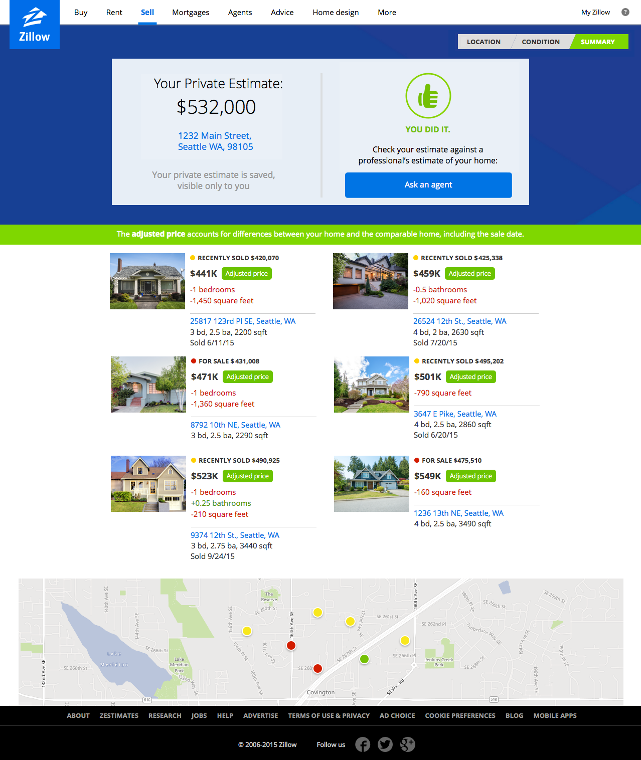 Zillow Launches New Home Pricing Tool For Sellers Techcrunch