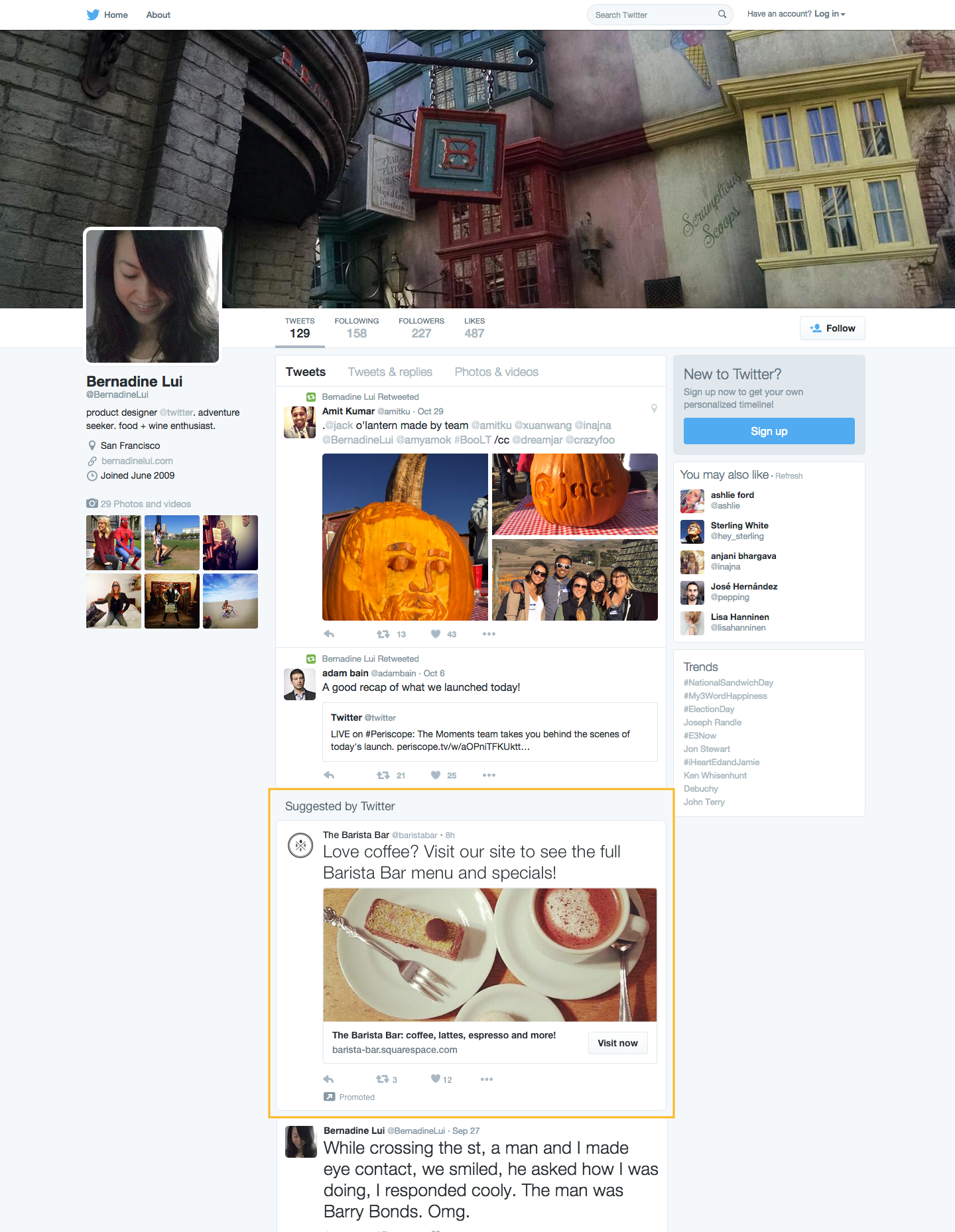 Twitter Widens Its Advertising Net, Tests Promoted Tweets