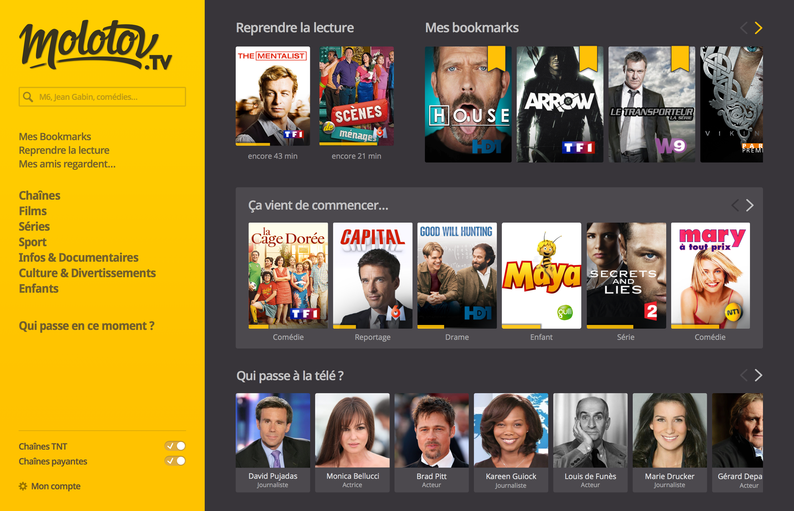 Molotov Signs Deals With LG And Samsung To Come To Your Smart TV