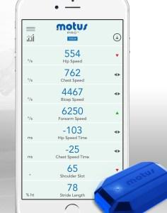 Motus sensor and smartphone app.