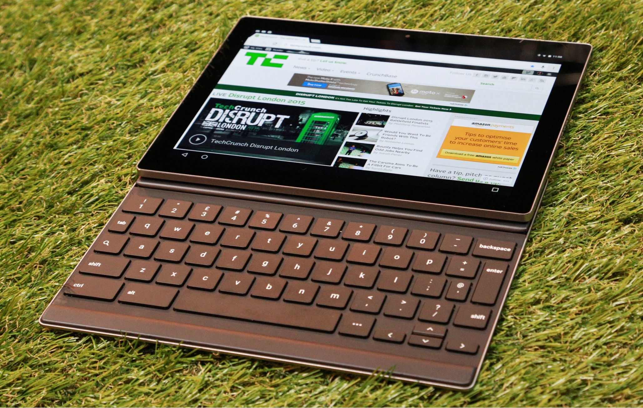 Tablet section abruptly dumped from Google's Android website