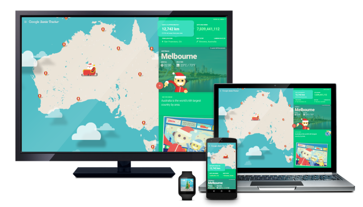 google and microsoft launch their santa trackers