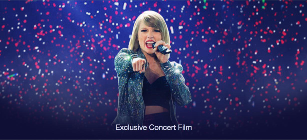 Taylor Swift S 1989 World Tour Film Is Apple Music S Secret Weapon Techcrunch