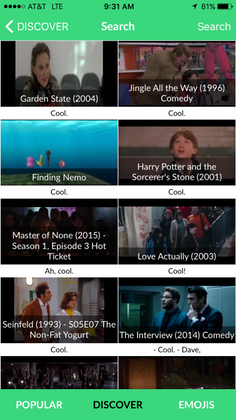 Yarn's App Lets You Share Short Clips From Movies, TV Shows And